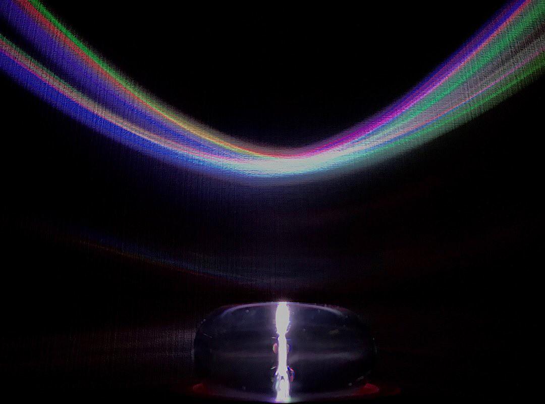 クリスタルトーラスの虹